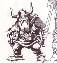 Gileus, Dwarven Fighter