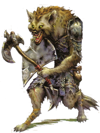 Gnolls in the Cruth